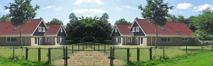 16-persoons bungalows