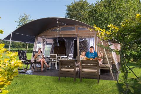 6-persoons tent Lodge Deluxe