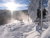 Alle Franse parken in wintersportgebied