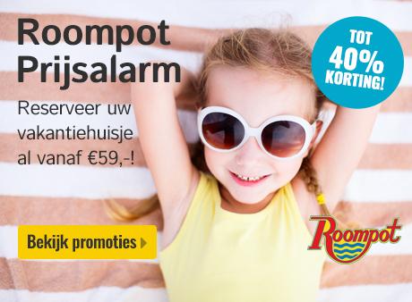 Roompot Prijsalarm