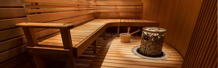 Bungalows met sauna