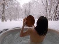 Bungalows met jacuzzi/hot tub buiten
