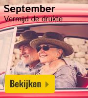 vakantie in september