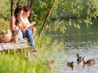 Bungalowparken nabij rivieren en meren