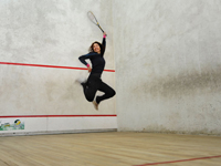 Vakantieparken met squashbaan