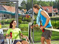 Tennisbaan buiten