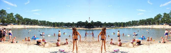 Vakantieparken met zwemvijver