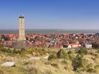 Bungalows aan de Nederlandse kust