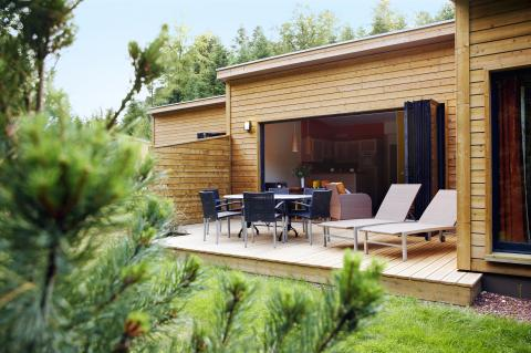 6-persoons bungalow Premium