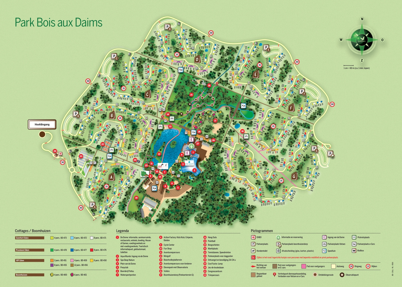 Center Parcs Le Bois aux Daims