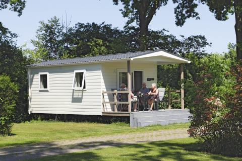 4-persoons stacaravan/chalet Lodge