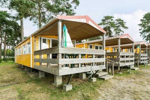 4-persoons stacaravan/chalet Beach Cottage
