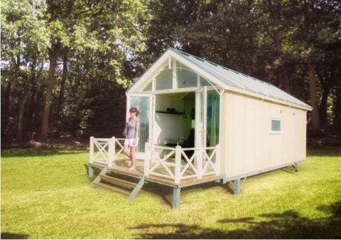 4-persoons stacaravan/chalet Lodge 4A