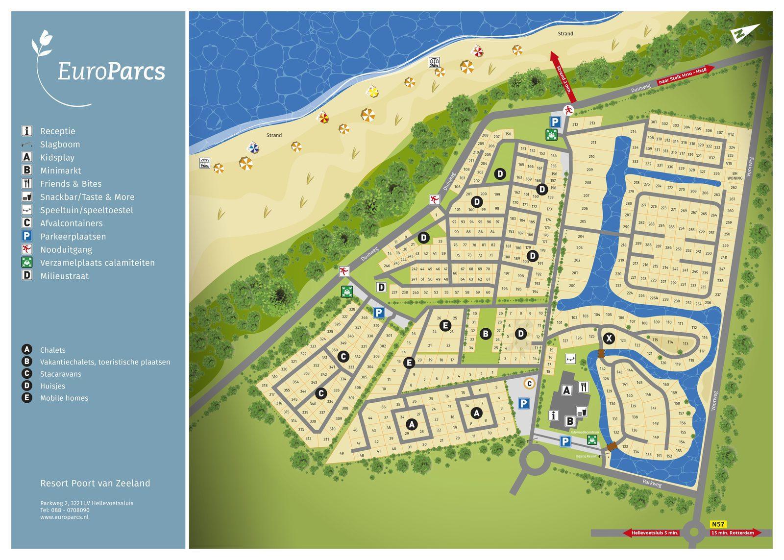 EuroParcs Resort Poort van Zeeland